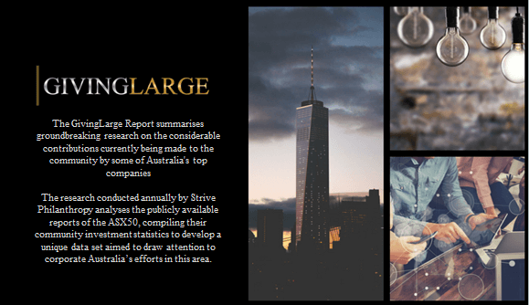 GivingLarge Media Release