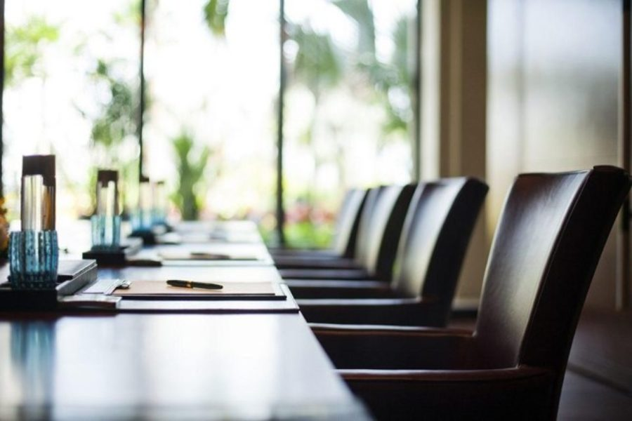 Picture yourself in a corporate boardroom…
